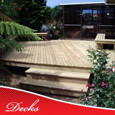 Custom Timber Decks
