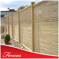 Custom Timber and Trellis Fences